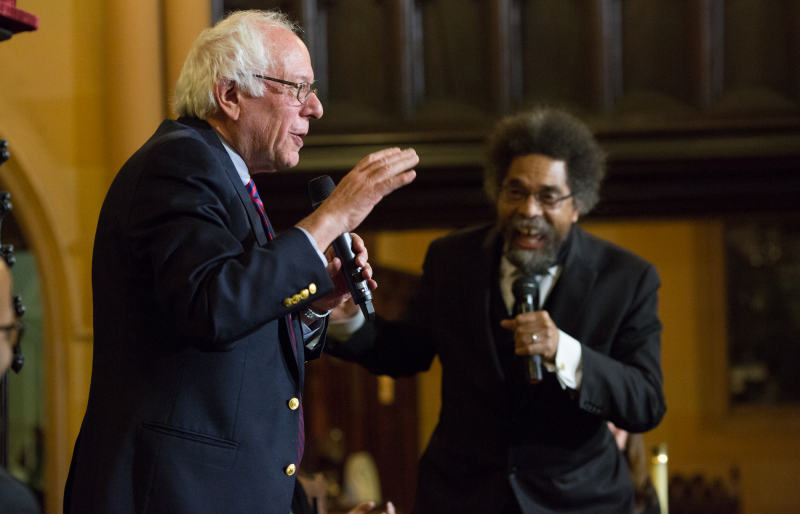 Dr. Cornel West and Draft Bernie Founder Nick Brana Invite Sen. Sanders to Town Hall