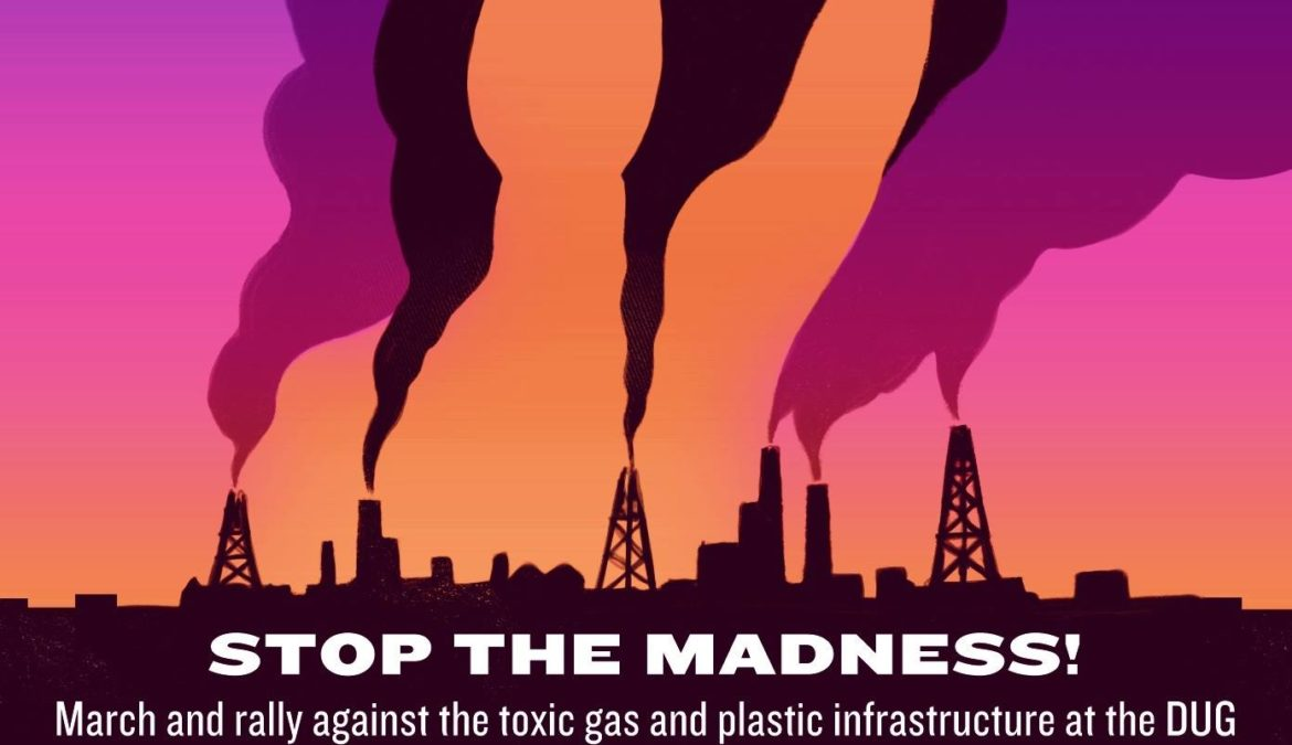 March and Rally Against Fracking Conferences in Pittsburgh