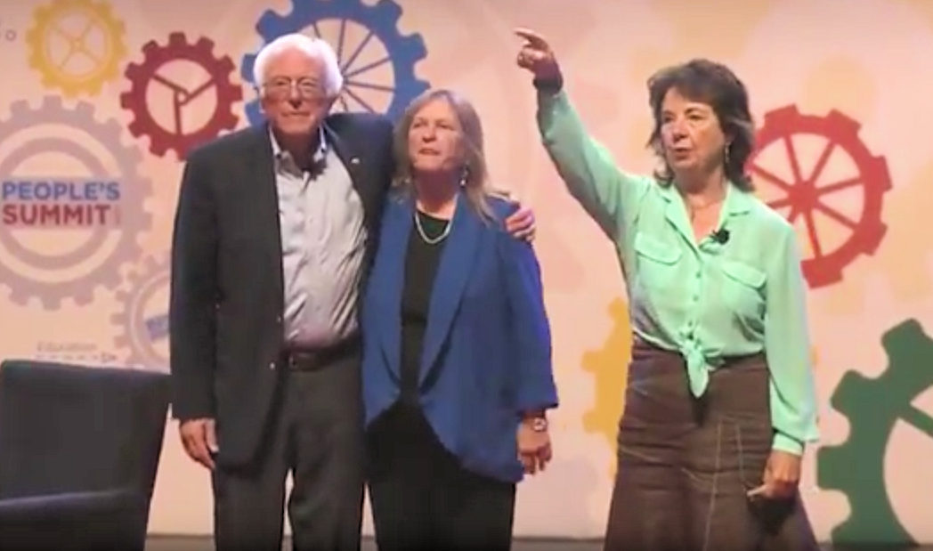 Press Release: RoseAnn DeMoro Announces Her Support for the Draft Bernie Movement at the People's Summit