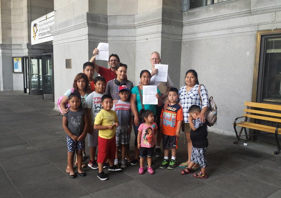 Public hearing for Pittsburgh Sanctuary City Legislation