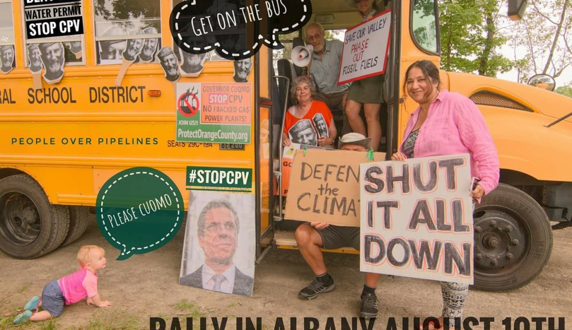 Rally in Albany Tell Cuomo Deny 401 WQC and be a Climate Leader