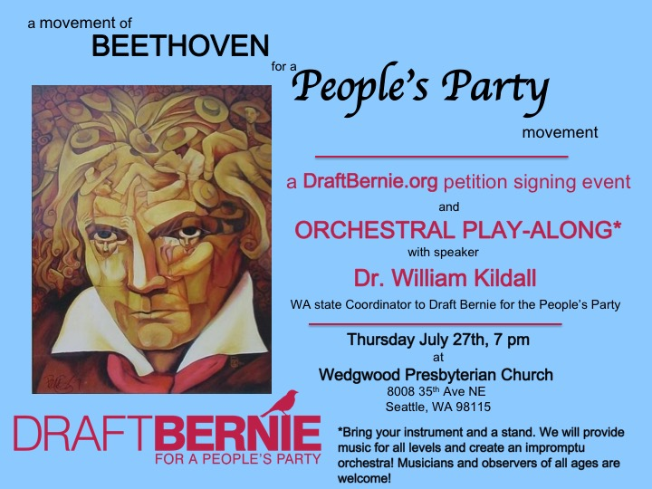 A Movement of Beethoven for a People's Party Movement
