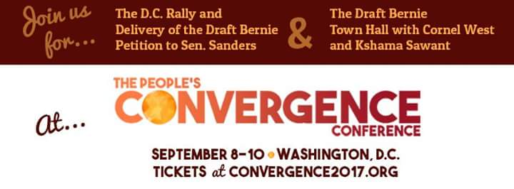 Sister Gathering People's Convergence 2017 Town Hall Viewing Party