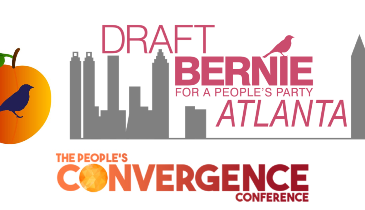Draft Bernie Town Hall Livestream and Founding of a People's Party: Atlanta Chapter