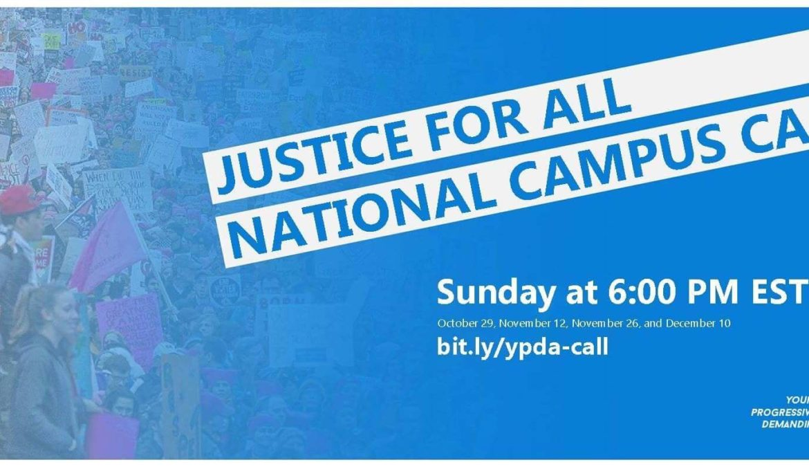 Justice for All Nationwide Campus Call